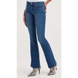 7FAMK A Pocket Flare Style Medium Wash Jeans